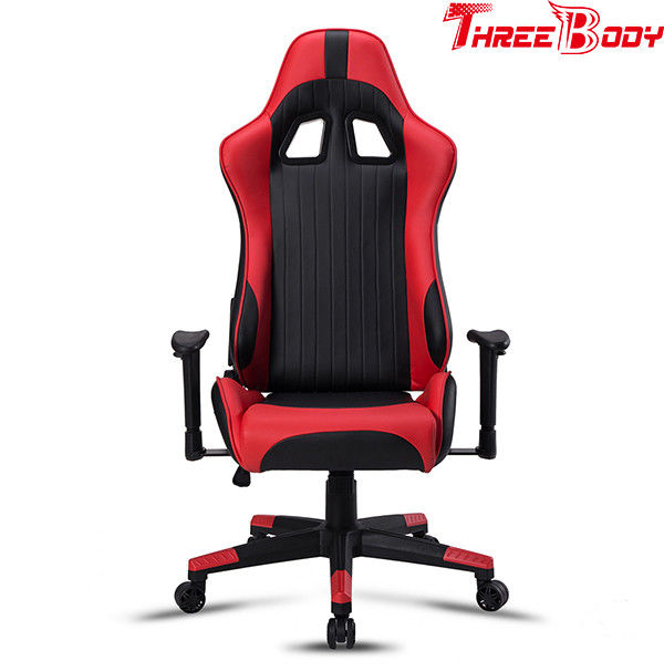 High End Computer Racing Gaming Chair , Commercial Race Car Desk Chair