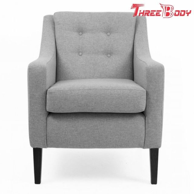 Leisure Comfortable Living Room Chairs , Contemporary Upholstered Accent Chairs