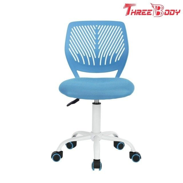 Soft Modern Kids Furniture Adjustable Children ' S Movable Mesh Study Desk Chair  Blue